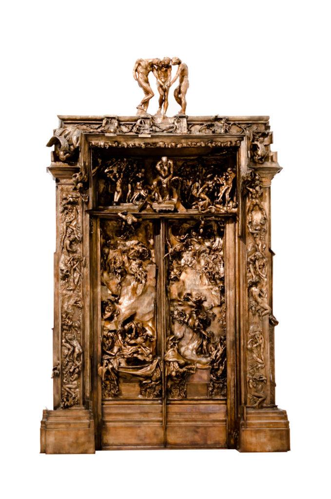 Les Portes de l'enfer de Rodin